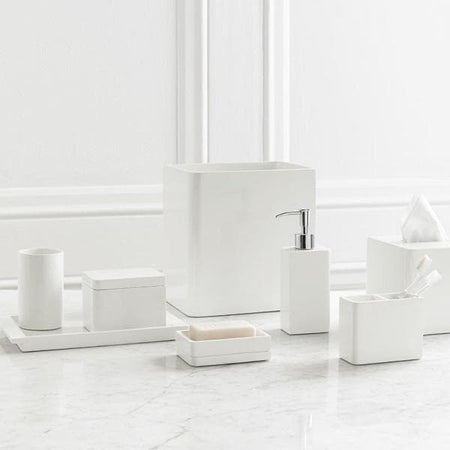 Lacca White Lacquer Bathroom Accessories