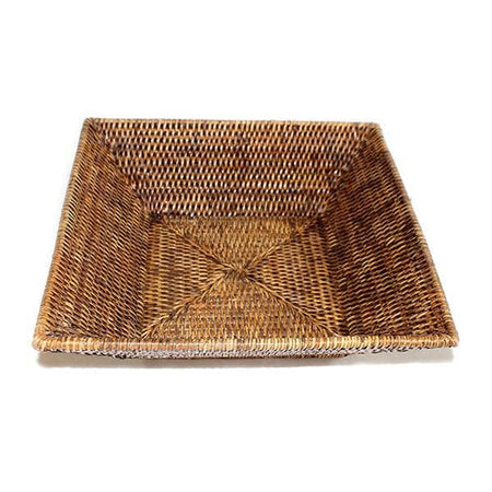 Rattan Square Bread Tray