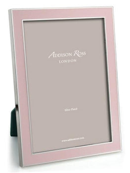 Addison Ross Light Pink Enamel Picture Frame