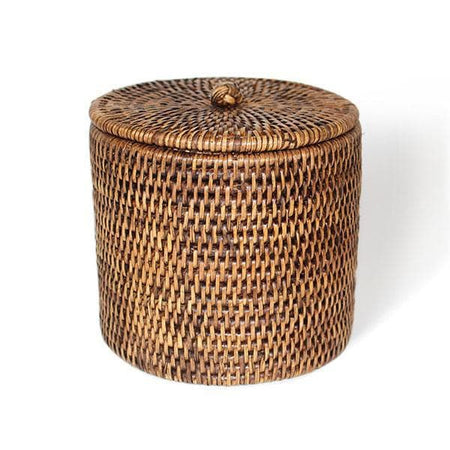 Rattan Toilet Paper Holder Basket