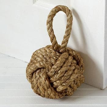 Marseille Knot Door Stopper 10""
