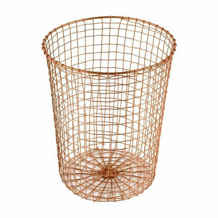 Cabo Copper Wire Waste Basket