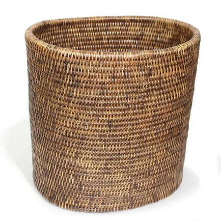 Rattan Waste Basket Oval