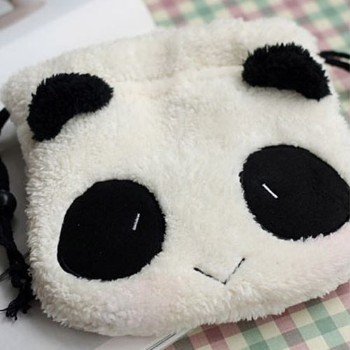 Panda Multipurpose Storage Cosmetic Bag Makeup Pouch - Cute Wayz
