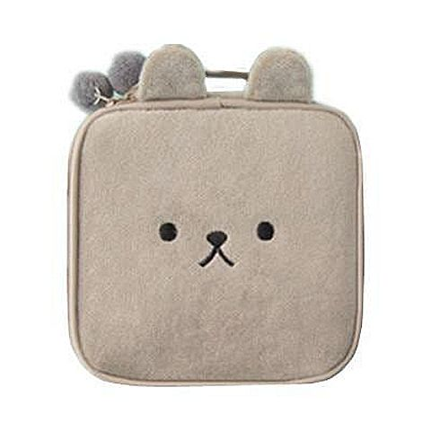 Velvety Animals Cosmetic Case Makeup Bag - Cute Wayz