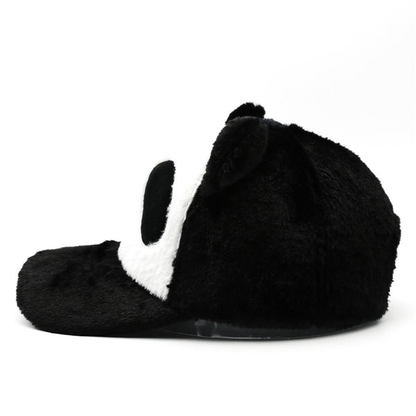 Panda Baseball Cap with Velcro Strap - Cute Wayz