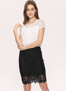 Cute Outfit for Women Lace Blouse Great Summer Outfit - Cute Wayz