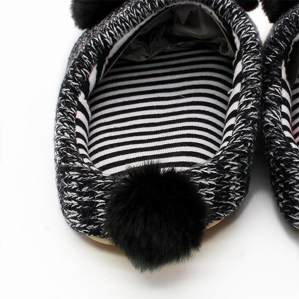 Cute Panda Indoor Slippers for Women Men and Kids - Cute Wayz