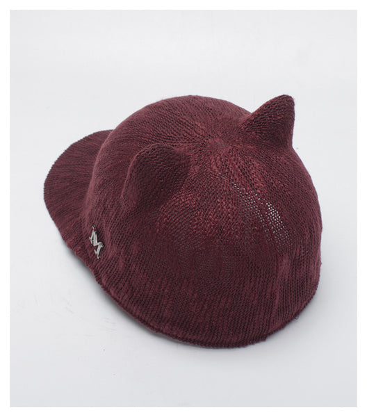 Cute Cat Ears Baseball Caps for Women - Cute Wayz