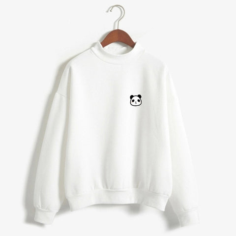 Cute Panda Face Sweatshirt Pullover - Cute Wayz