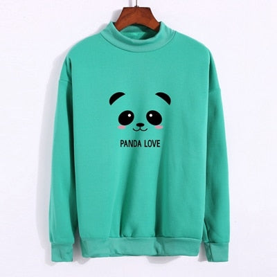 Cute Panda Love Sweatshirt Pullover - Cute Wayz