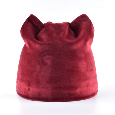 Cute Cat Ears Beanie - Cute Wayz