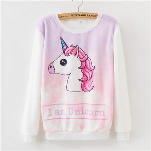 Cute Animals Cartoon Sweatshirt Pullover - Cute Wayz