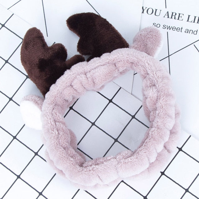 Cute Antlers Headband with Ears for Girls - Cute Wayz