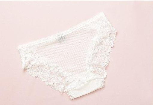 Adorable Panties Underwear in Lace and Bow Tie - Cute Wayz