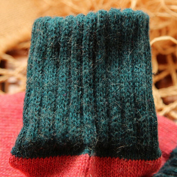 Lovely Warm Wool Socks 5 Pairs - Cute Wayz