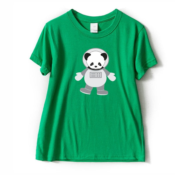 Adorable Panda T-shirt Print in Various Designs - Cute Wayz