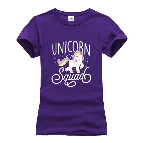 Unicorn Squad T-shirt Print - Cute Wayz