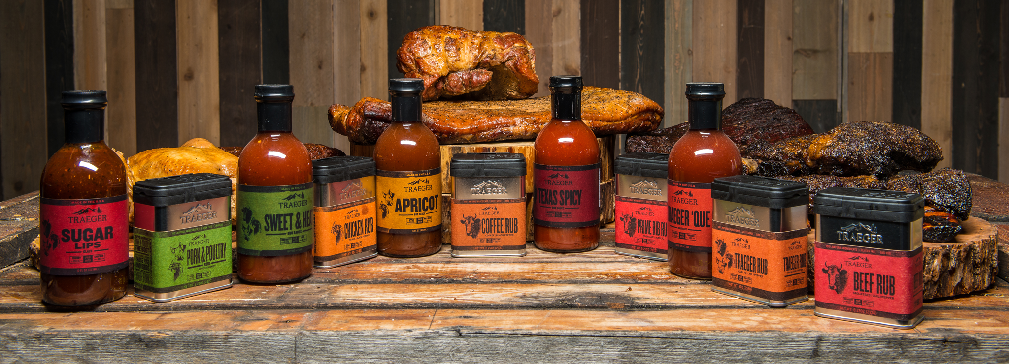 Traeger Rubs and Sauces