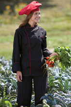 Uncommon Threads Chef Coat with Contrast Piping
