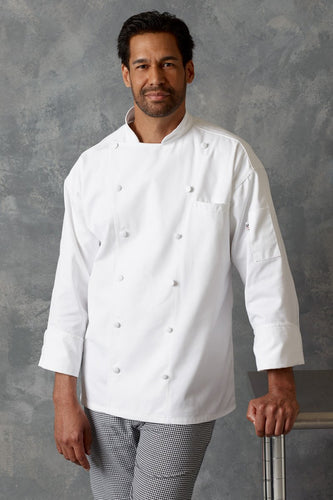 Sienna Chef Coat - by Uncommon Threads