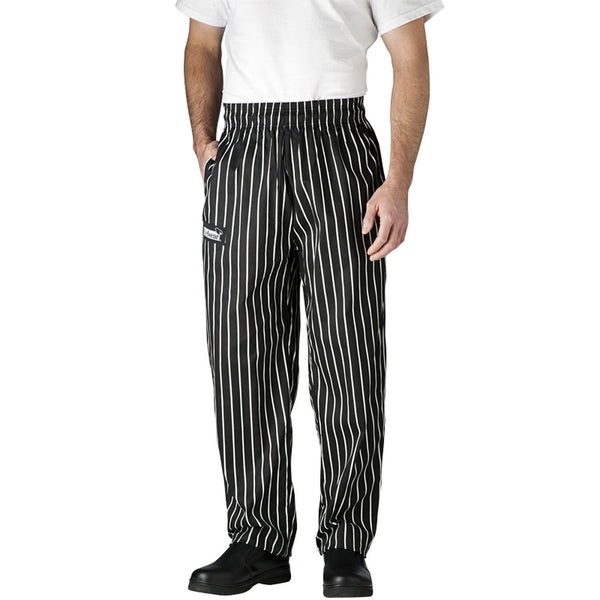 Chefwear CW3500 Ultimate Chef Pant - Black Chalkstripe