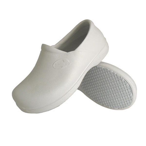 Genuine Grip 3805 Unisex White Clog