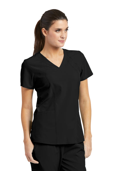 Barco One 5105 Women's Racer V-Neck Top