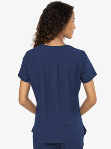 Med Couture 2411 Insight 3 Pocket V-Neck Top