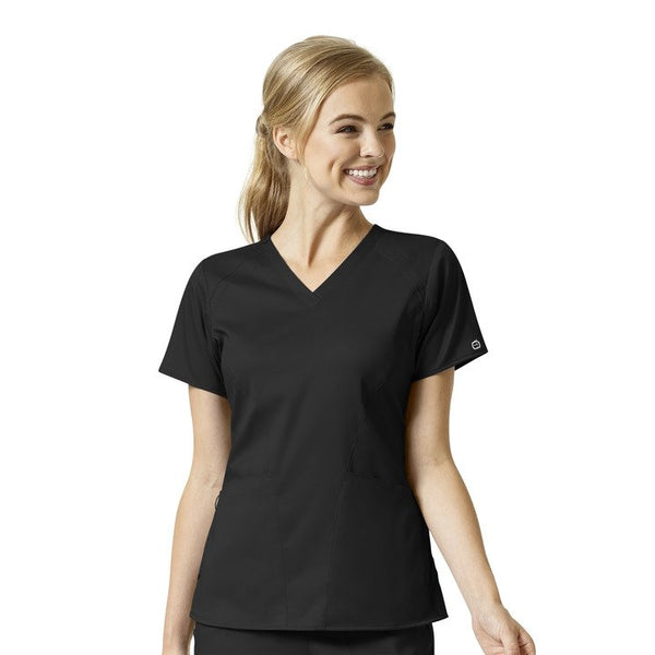 WonderWink Pro 6319 Women's Modern-Fit V-Neck Scrub Top