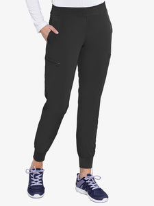 Med Couture 8739 Energy Smocked Waist Jogger Pant - TALL