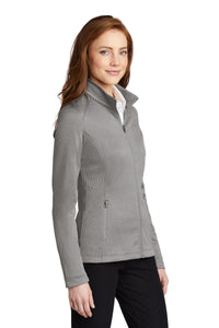 PA L249 Women's Diamond Heather Fleece Jacket