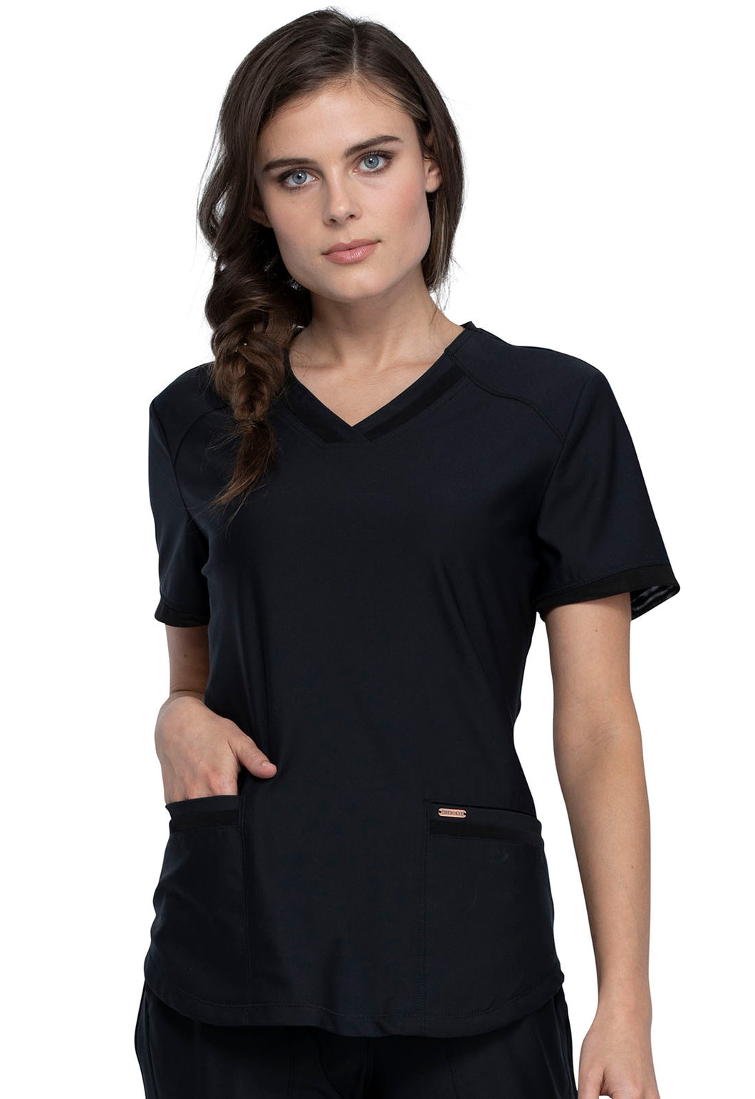Cherokee Form CK840 Women's Top