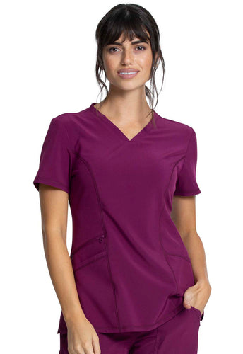 Cherokee Allura CKA684 Women's V-Neck Top
