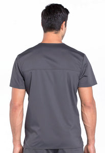 Cherokee Revolution WW670 Men's 3 Pocket V-neck Top
