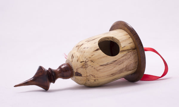Wooden Christmas Decoration (Bird House)