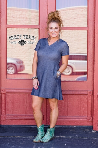 Diamond Rio Denim Dress