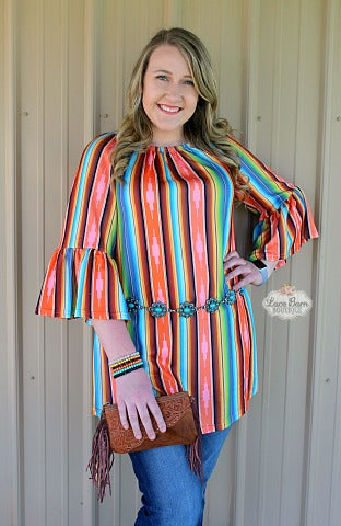 Aztec Stripe Tunic