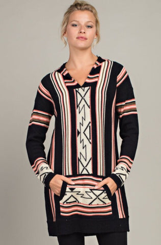Aztec Sweater Tunic