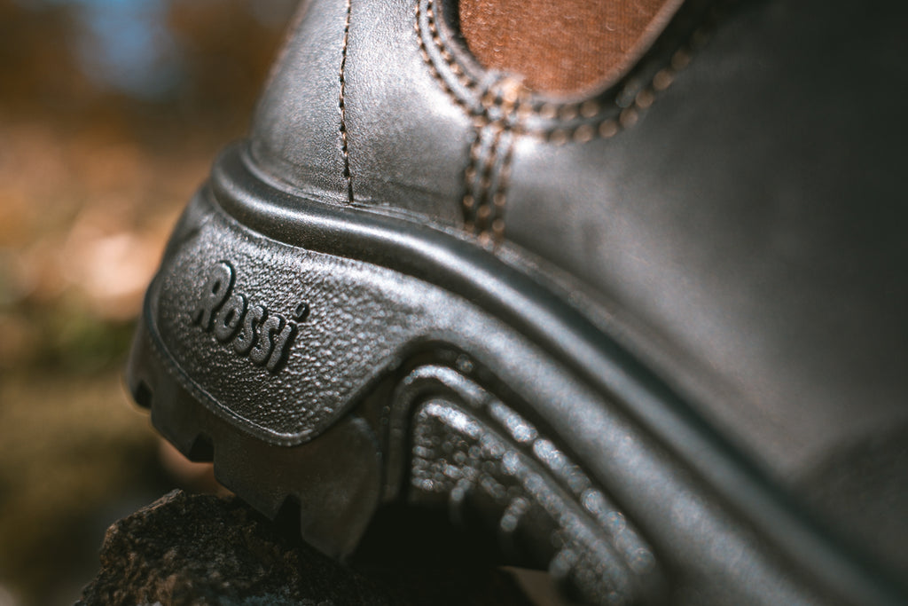 Rossi Boots Close Up