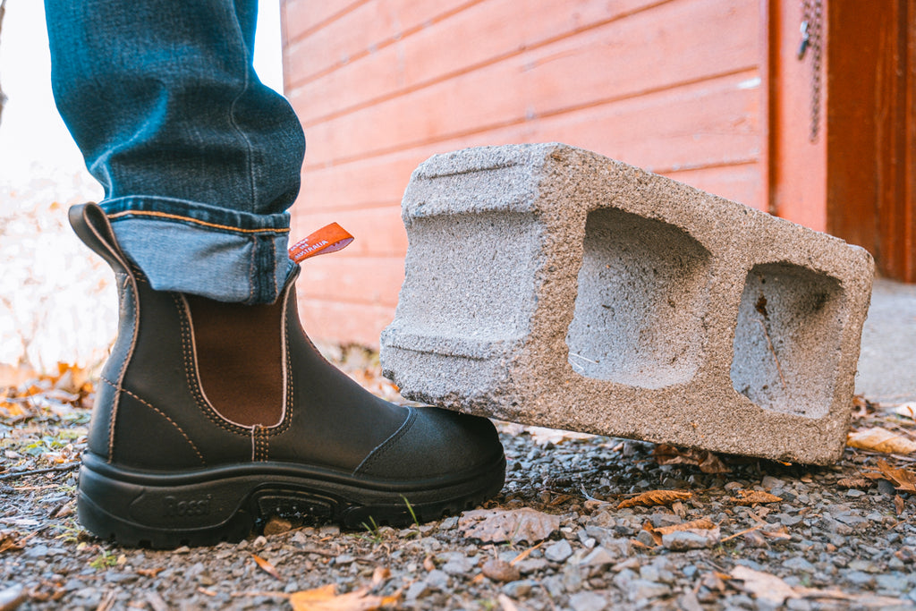 Steel Toe Rossi Boots