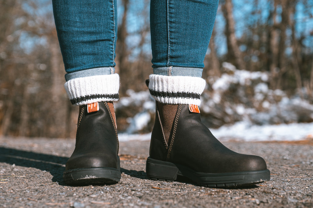 Rossi Boots for women with wool socks