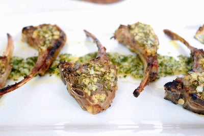 Lemon Garlic Lamb Chops