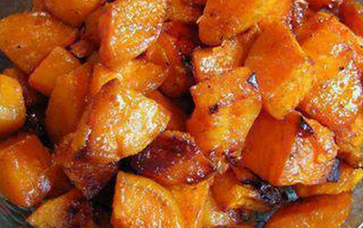 Maple Roasted Cumin Sweet Potatoes