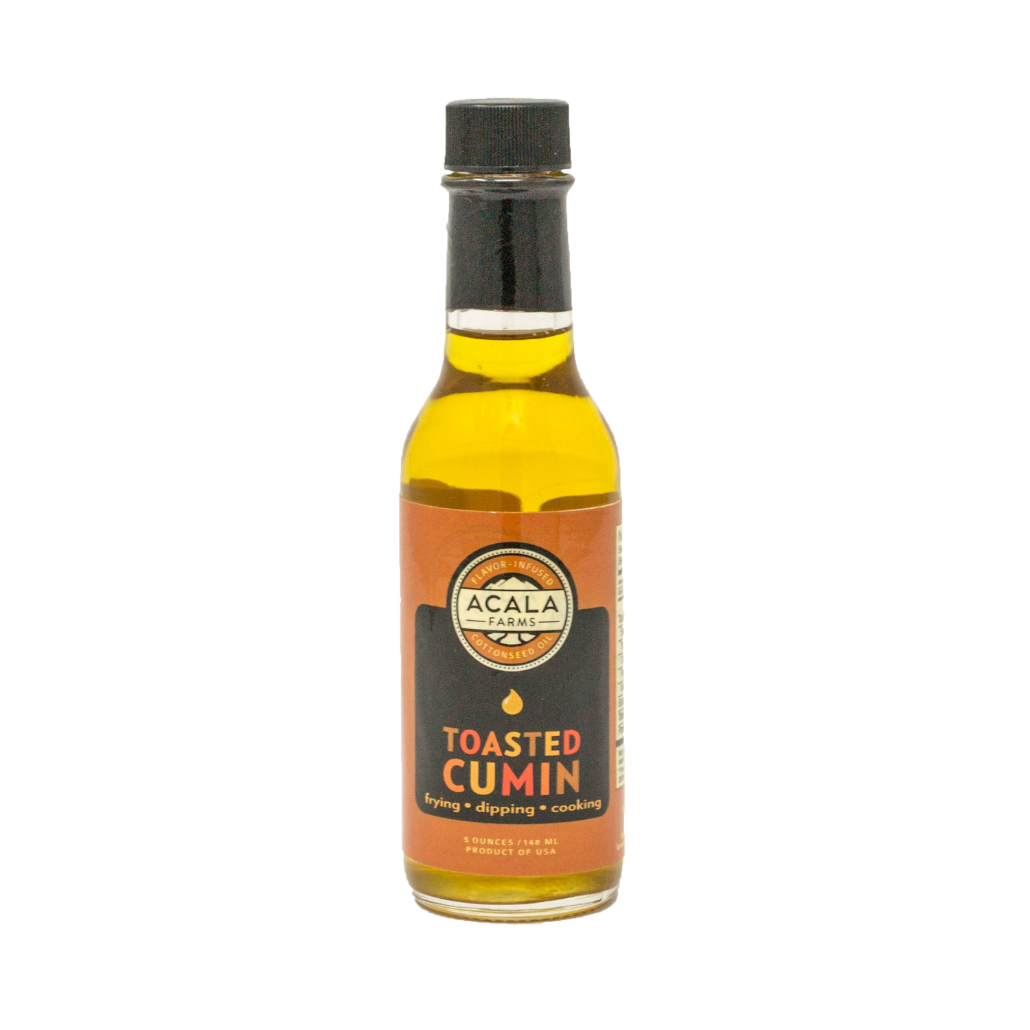 Toasted Cumin Acala Farms cooking oil