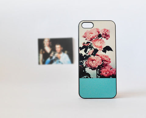 pinkVintageRoses_iPhoneCase13