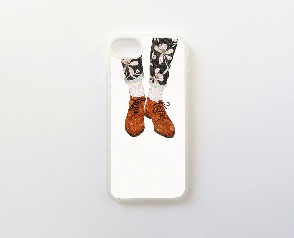 Floral Legs - Carcasa iPhone 7 y iPhone 8