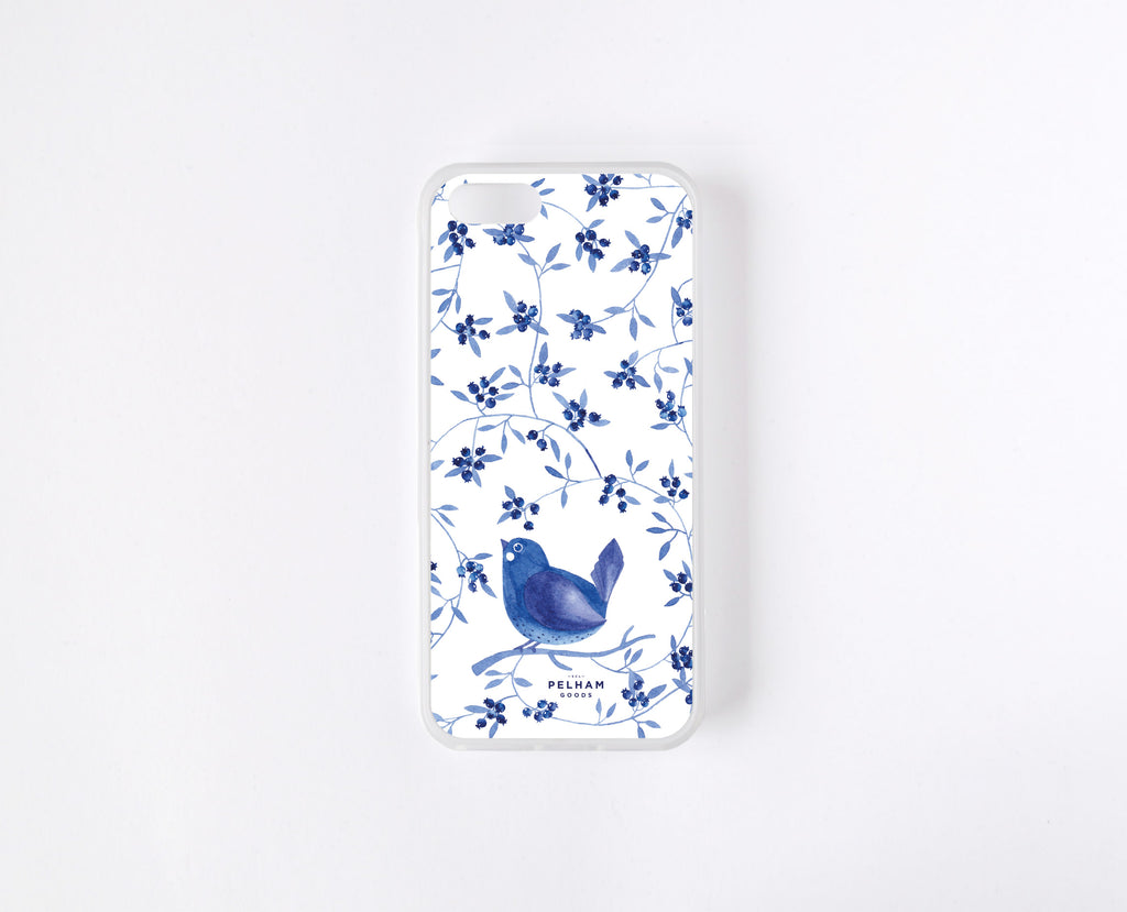 Blueberry Bird - Carcasa iPhone 5 - iPhone SE