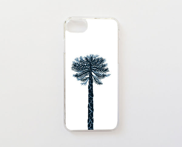 Araucaria Blanco - Carcasa iPhone 7 Plus y iPhone 8 Plus