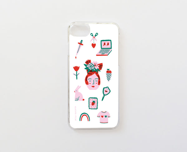 Pattern Milo - Carcasa iPhone 7 y iPhone 8